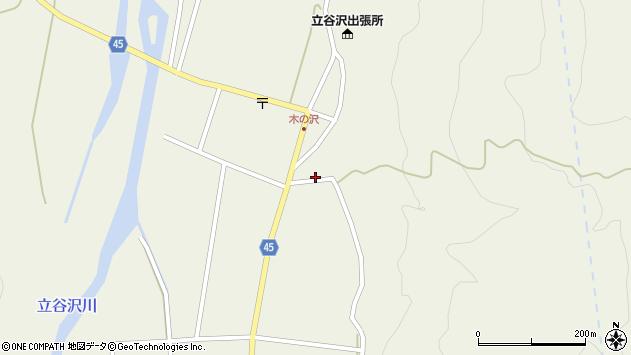 山形県東田川郡庄内町肝煎福地山本19周辺の地図