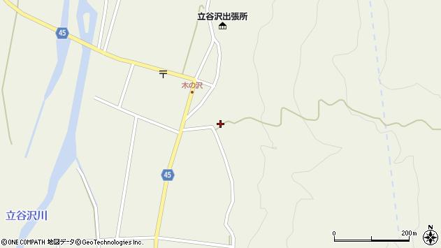 山形県東田川郡庄内町肝煎福地山本17周辺の地図