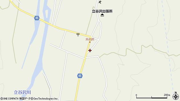 山形県東田川郡庄内町肝煎福地山本25周辺の地図