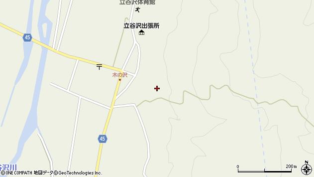 山形県東田川郡庄内町肝煎福地山本40周辺の地図