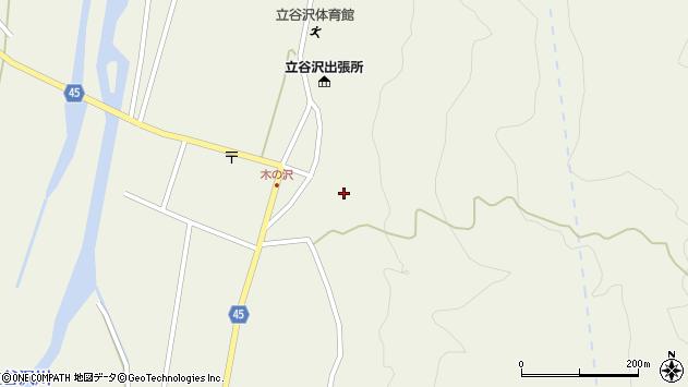 山形県東田川郡庄内町肝煎福地山本41周辺の地図