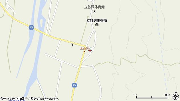 山形県東田川郡庄内町肝煎家ノ前2周辺の地図