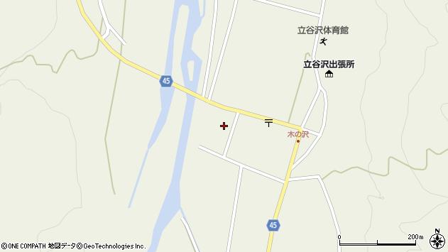 山形県東田川郡庄内町肝煎家ノ前128周辺の地図