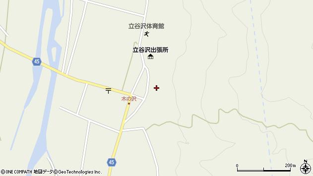 山形県東田川郡庄内町肝煎福地山本46周辺の地図