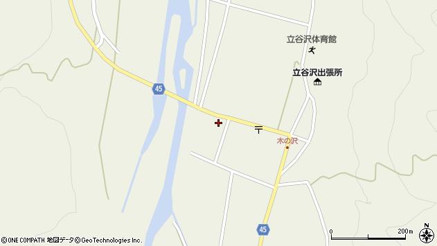 山形県東田川郡庄内町肝煎家ノ前127周辺の地図