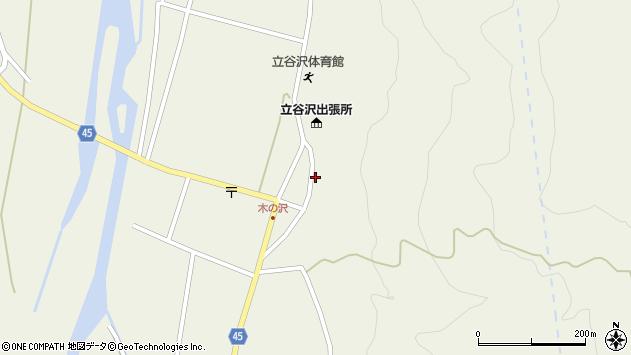 山形県東田川郡庄内町肝煎福地山本周辺の地図
