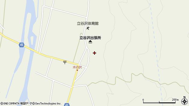 山形県東田川郡庄内町肝煎福地山本48周辺の地図