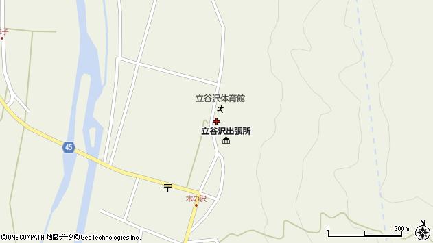 山形県東田川郡庄内町肝煎福地山本63周辺の地図