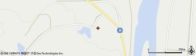 山形県最上郡大蔵村合海1314周辺の地図