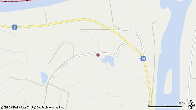 山形県最上郡大蔵村合海1491周辺の地図