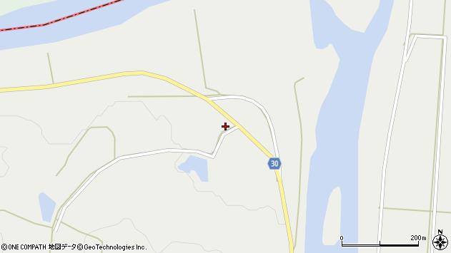 山形県最上郡大蔵村合海1307周辺の地図