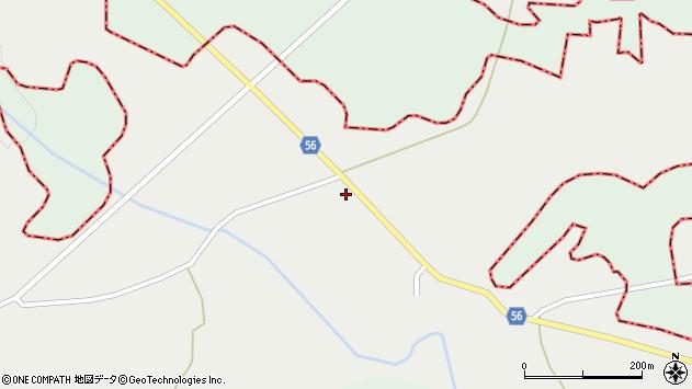 山形県最上郡大蔵村合海833周辺の地図