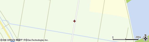 宮城県栗原市築館萩沢向柳周辺の地図
