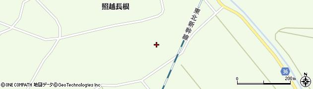 宮城県栗原市築館照越新田周辺の地図