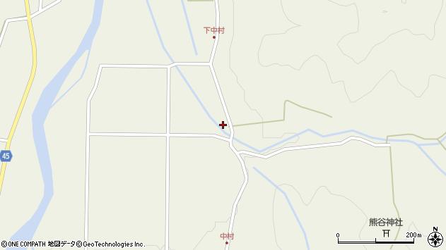山形県東田川郡庄内町肝煎小申花41周辺の地図