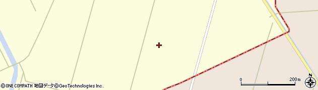 宮城県栗原市若柳下畑岡蓮田周辺の地図