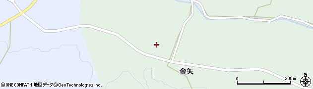宮城県栗原市一迫柳目金矢周辺の地図