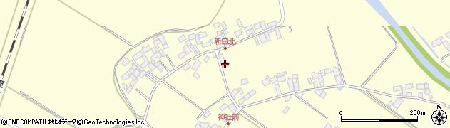 宮城県栗原市若柳川南新田東周辺の地図