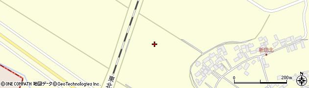 宮城県栗原市若柳下畑岡新田北周辺の地図