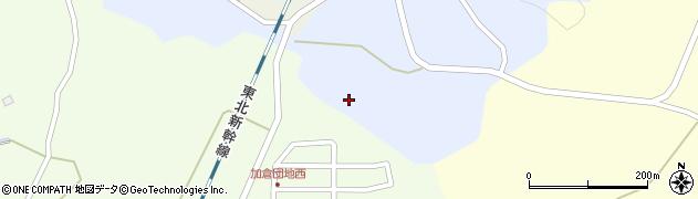 宮城県栗原市志波姫八樟浦山周辺の地図