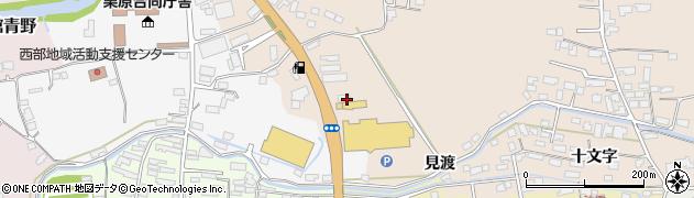 宮城県栗原市志波姫堀口見渡周辺の地図