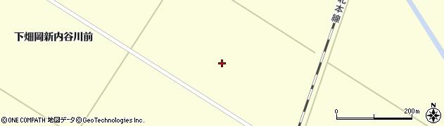 宮城県栗原市若柳下畑岡新大和田周辺の地図