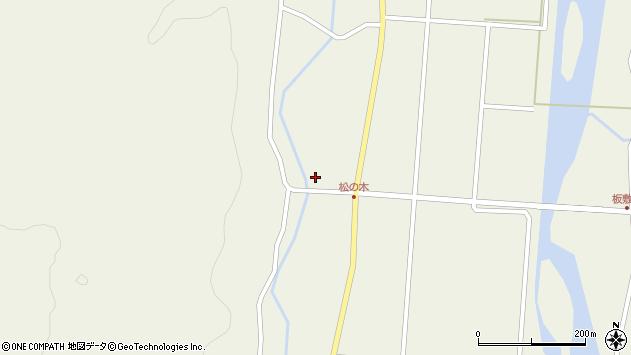 山形県東田川郡庄内町肝煎東前田周辺の地図