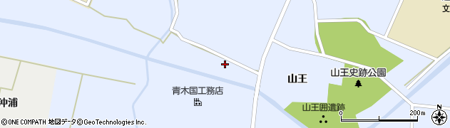宮城県栗原市一迫真坂吉渕周辺の地図