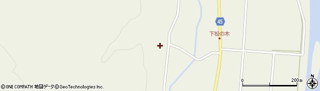 山形県東田川郡庄内町肝煎西前田48周辺の地図