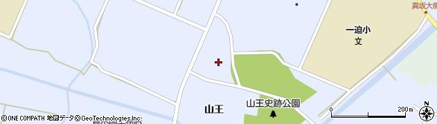 宮城県栗原市一迫真坂鎌折周辺の地図