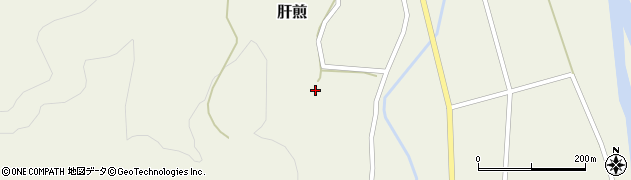 山形県東田川郡庄内町肝煎上前田20周辺の地図