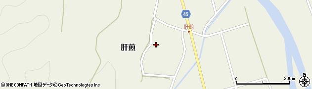 山形県東田川郡庄内町肝煎宮ノ前25周辺の地図