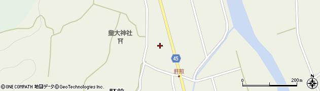 山形県東田川郡庄内町肝煎宮ノ前13周辺の地図