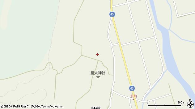 山形県東田川郡庄内町肝煎宮ノ前48周辺の地図