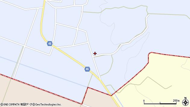 山形県東田川郡庄内町三ケ沢白山口13周辺の地図