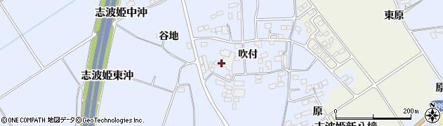 宮城県栗原市志波姫八樟吹付周辺の地図