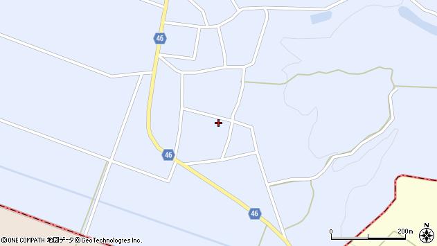 山形県東田川郡庄内町三ケ沢堰南24周辺の地図