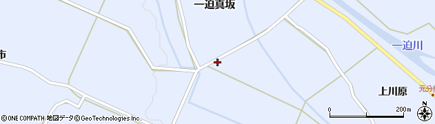 宮城県栗原市一迫真坂清水ケ袋周辺の地図