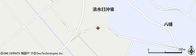 宮城県栗原市一迫清水目下谷地周辺の地図