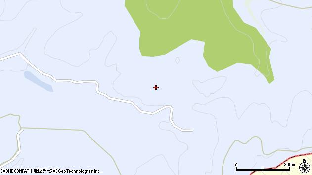 山形県東田川郡庄内町三ケ沢向山周辺の地図