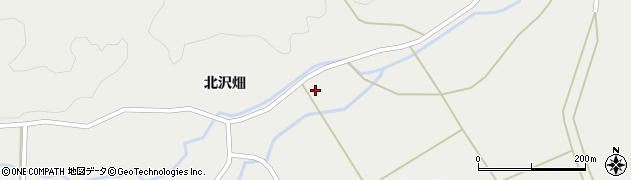 宮城県栗原市一迫北沢山崎裏周辺の地図