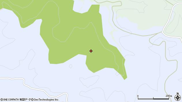 山形県東田川郡庄内町三ケ沢若狭森周辺の地図