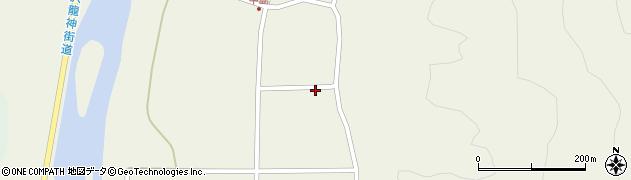 山形県東田川郡庄内町肝煎鎌田周辺の地図
