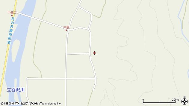 山形県東田川郡庄内町肝煎内中田29周辺の地図