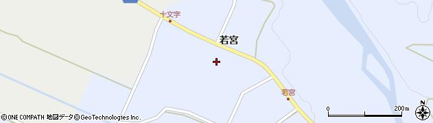 宮城県栗原市一迫真坂松の木周辺の地図