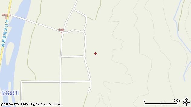 山形県東田川郡庄内町肝煎内中田35周辺の地図
