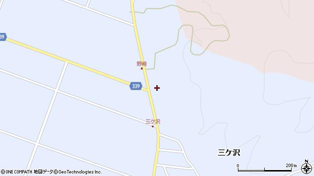 山形県東田川郡庄内町三ケ沢中里99周辺の地図