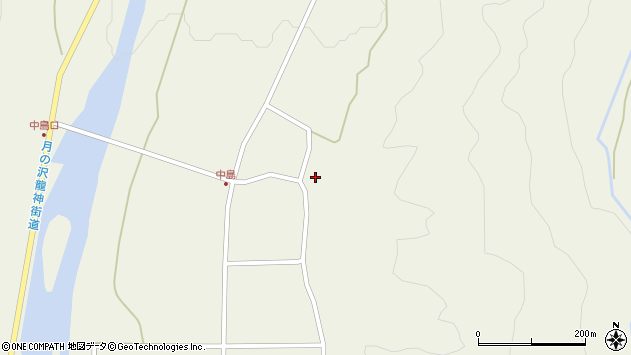 山形県東田川郡庄内町肝煎内中田47周辺の地図