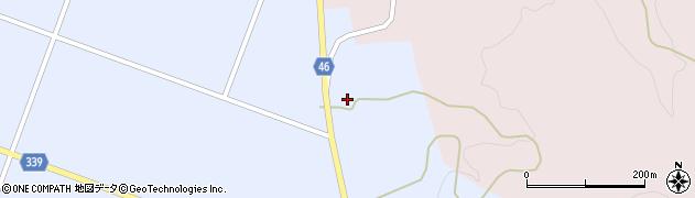 山形県東田川郡庄内町三ケ沢畑田44周辺の地図