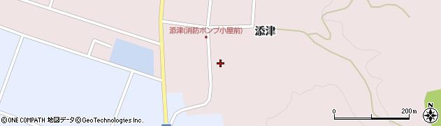 山形県東田川郡庄内町添津諏訪下28周辺の地図